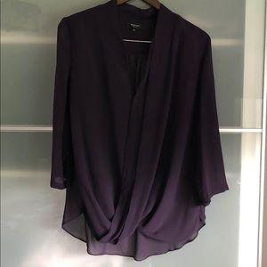 Beautiful 100% Silk Babaton Blouse, L